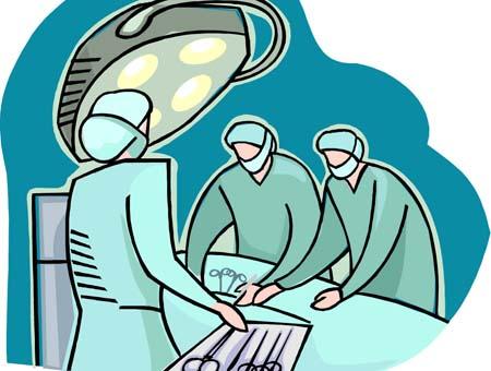 手术工具矢量图