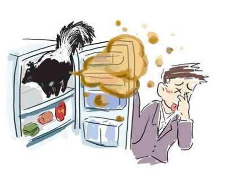 卡通双开门冰箱