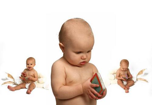 婴儿脑颅骨高清立体结构图