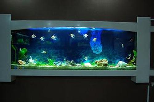 龙鱼缸桌子制作图解