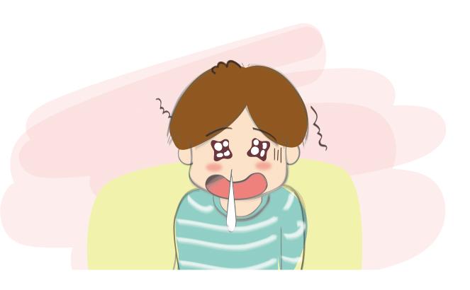 咳嗽,流鼻涕