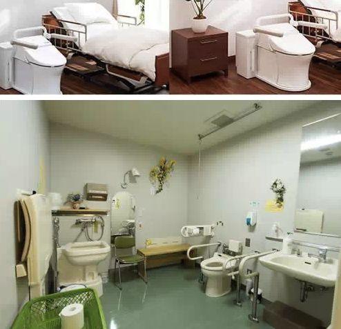 日本医院令人震惊的卫生间