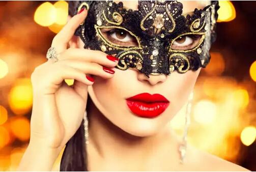 面具化妆派对图片