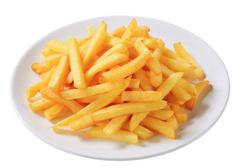 薯条食物简笔画