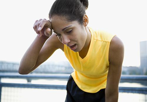 梦见锻炼身体出汗