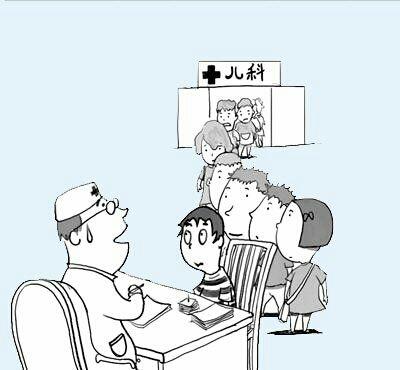 """""""二孩时代""""带来的儿童越来越多的客观现实,将给我国原本儿科医生就"""