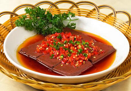 (一)关于动物血做出来的美食