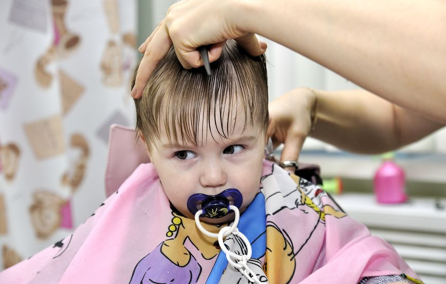 婴儿创意头发图片